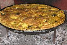Arroces   Rice / Recetas de arroces, paellas
