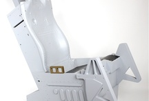 ACES ejection seat replica / The seat is available separately or as a part of complete F-16 cockpit simulator offer. Check out www.viperwing.com  Contact: raider@f-16.eu