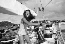 Florence Arthaud / pioniera della vela femminile, figlia dello storico editore Arthaud e prima donna a vincere la Route du Rhum