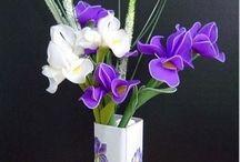nylon virágok