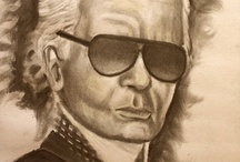 Iconic Figures / Drawings & Paintings