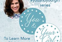 You and Your Girl / Monthly series   As a Mom and Mentor to young women, I want to come alongside you, helping you to connect with your girl in ways you may not yet have thought of. On a spiritual, friendship, parental & loving level. Each month, my #youandyourgirl series provides you with daily opportunities to connect with your girl in some way. It might be through prayer, face to face, or discretely. **See my boards for each month's series of posts**