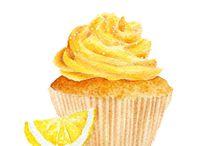 Muffins and Cupcakes - Zeichnungen