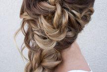 Långt hår / Färg och håruppsättningar