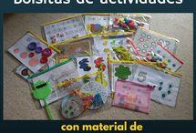 Busy Bag - Bolsitas actividades