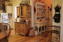 Dollhouse Kitchens