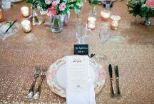 Tabletops!  Wedding Table Decor Ideas