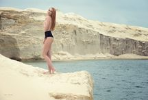 Strecke Beach / Model | Anne Kathrin Gehring MakeUp & Hair | Constanze Prothmann Photographer | Mike Weis Photodesign