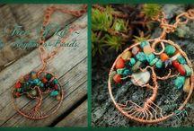 ~Tree Of Life Jewelry and Suncatchers~by Deborahlynn Designs / www.rhythm-n-beads.com https://www.etsy.com/shop/DeborahlynnDesignz