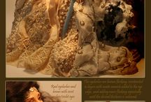 patriciarosestudio / art dolls learn to sculpt fantasy fairies, mermaid and beautiful figurines using my molds and DVD's