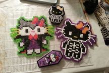 halloween crafts (hama Beads) / by Jackie