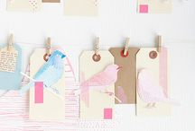wrapping/tags/bows / by Jan Wassmuth