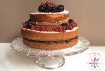 Rezepte: Torten Naked Cakes