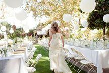 Sweet Pink and Grey Wedding