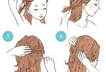 Ideias para penteados
