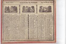 Calendriers depuis 1830