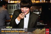 YELP: We Know Just The Place / International ad campaigns for Yelp's mobile app using real Elite Yelpers as models. Photographer/Producer: Jorge Novoa Wardrobe Stylist/Producer: OAK&ROMA Assistant: Terry Barentsen Makeup: Bo Kelly Hair: Lara Oliva