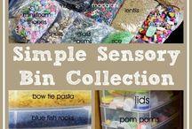 Toddler Sensory Bins