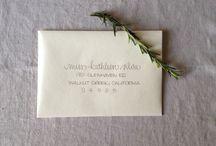 Lettering-envelopes / by Reeniebeth N