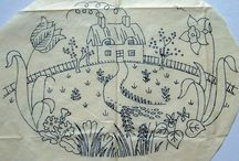 Embroidery - Scenes / Embroidery