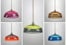 Colour Choices/ Blown Glass/ Lighting / You can see in this album some of our lights showing the different colour choices you can have. We can also do custom colours for these.