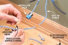 Installing Cabling of Various Sorts