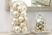 Festive Mantel Top Displays