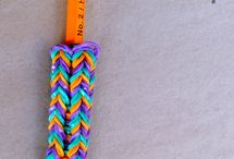 Crafts - rainbow loom