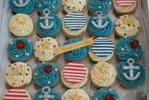 Nautical themed baby shower / Baby shower with a nautical theme