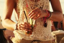 Hippie Chick / Boho - inspired looks for spring and summer. / by Darn Good Yarn