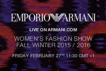 Emporio Armani Fall / Winter 2015-2016 Womenswear / by ARMANI