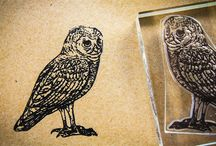 Crafty Owl Stamps / Creative owl custom stamps for creative projects, and images that inspire that creativity!