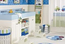 Bedrooms for little boys / by Moira Campbell