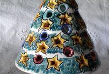 Alberello di Natale Lumiere. Maiolica, by ilciliegio, 18,00 € su misshobby.com