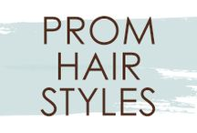 Prom Hair Styles / Need some inspiration for your #prom look? Take a look at these great hair styles.