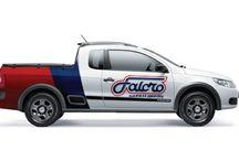Falcro / Visual identity