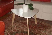 Plan table basse 1950 / Table basse 1950