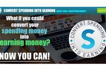 #ShoppingAnnuity / Convert spending money into earning money / by Ginette Huot