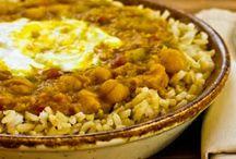 Lentils, beans and quinoa