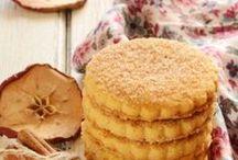 Biscoitos de maçã