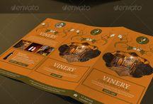 Food Menu Template / Food Menu Template. Tri Fold Brochure. Flyers. Coffee, tea, burgers.