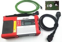Mitsubishi Fuso C5 Diagnostic Kit with WIFI with HDD