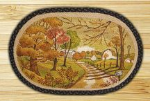 Holiday Rugs / Christmas Rugs / Autumn / Fall Rugs