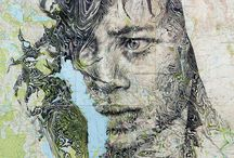 Ed Fairburn -Map Portraits-