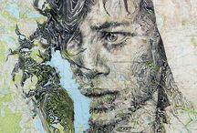 Ed Fairburn -Map Portraits-