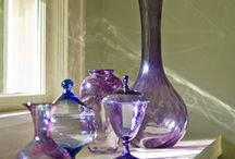 Glassware and Embellished Bottles / Love To Collect Glassware   / by Kimberly Keith Stanley