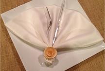 origami con serrvillletas de tela