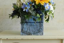 Denim and sunflower vowel renew