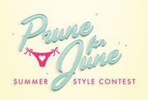 #pruneforjune / by Candie Cook