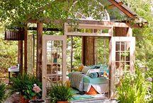 Garden sheds, garden rooms, pool houses / outdoor living structures